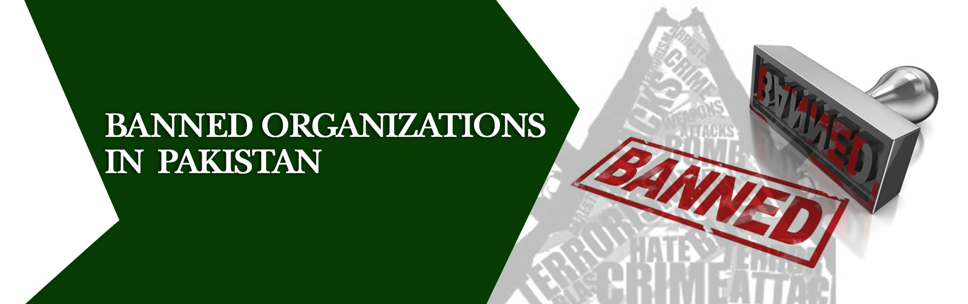 Extremist Organizations Banned In Pakistan Ministry of ...