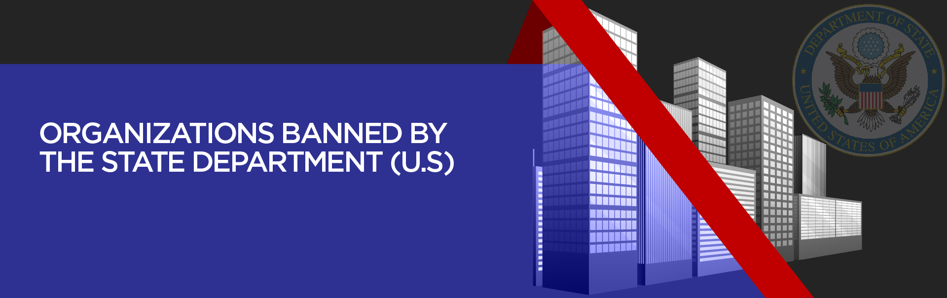 Organizations banned by the State Department (U.S)